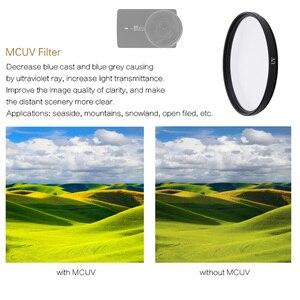 Image 4 - FOTOFLY filtro de cámara de acción para Yi 4K Lite UV CPL ND 2 4 8, filtros de lente de protección para Xiao Yi 4K + Plus, accesorios de cámara deportiva