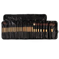 Great Discount 32Pcs Makeup Brushes Makeup Artist Professional Cosmetic Make Up Brush Set The Best