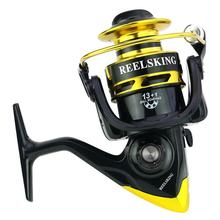 все цены на 13+1 axis Full Metal CNC Rocker Arm EVA Handle Spinning Wheel Reel Fishing Reel Fishing Equipment Fishing Reel
