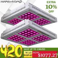 2 шт Mars Pro II Epistar 1600 W светодиодный полный спектр светать Вег Цветок гидропоники лампы лучше для гидропоники 750 W