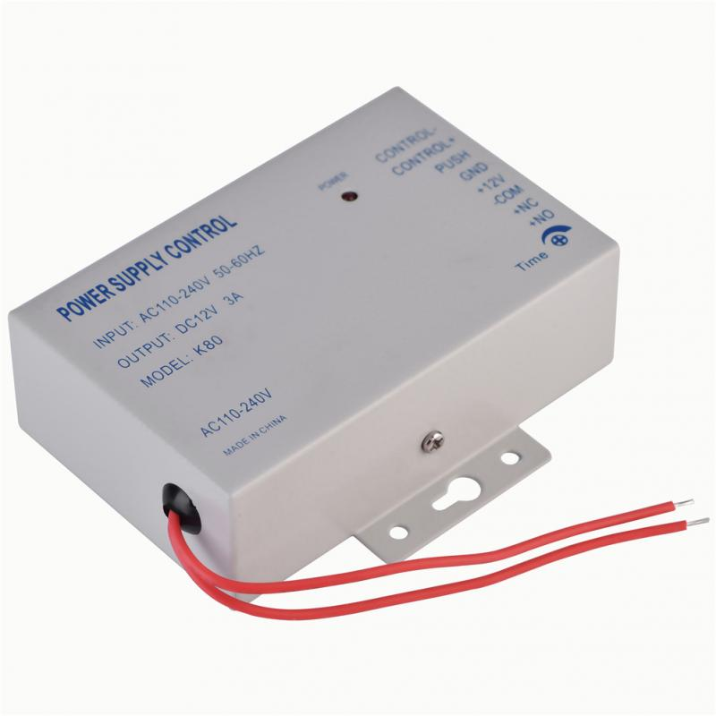 Image 2 - Input AC 110V 240V Output DC 12V 3A 30W Power Supply Controller for Door Access Control System Tools-in Switching Power Supply from Home Improvement