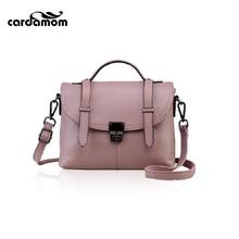 Cardamom 2017 Women Bag Female Leather Handbags Casual Women Messenger Bags Crossbody Bags Female Shoulder Bag Totes