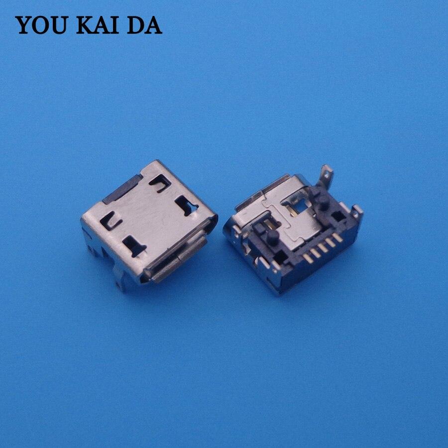5pcs Micro Usb Charge Charging Connector Plug Dock Socket
