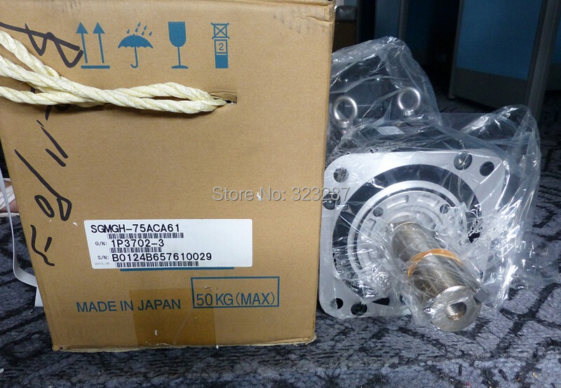NEW YASKAWA AC Servo Motor SGMGH-75ACA61 BRAND-NEW IN ORIGINAL PACKAGING yaskawa servo drive sgdm 01ada brand new in original packaging