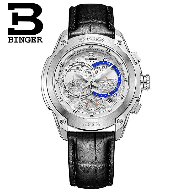 Szwajcaria zegarki mężczyźni luksusowa marka Zegarek na rękę - Męskie zegarki - Zdjęcie 2