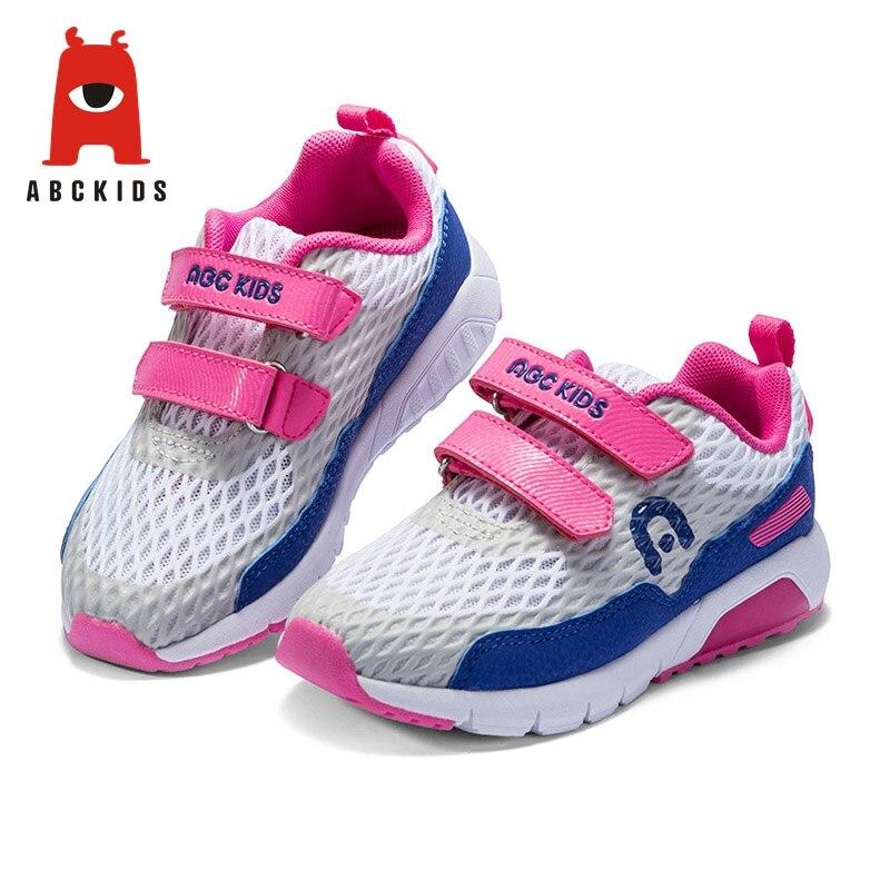 Abckids bébé garçons marque enfants chaussures plaine filles décontracté respirant baskets léger mode enfants chaussures chaussures