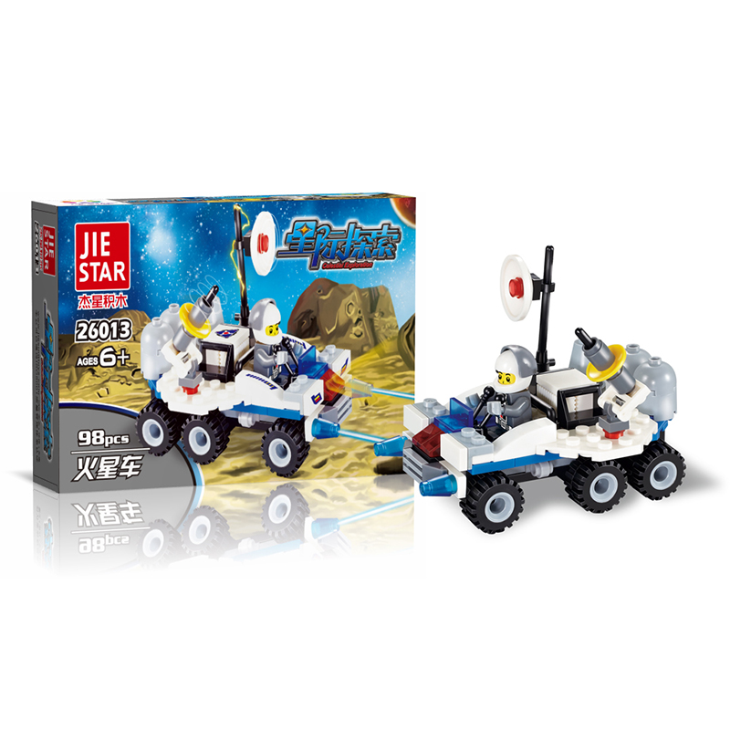2017 Star Wars Mars exploration car 98pcs Building Blocks Model Toys Christmas Gift for Children compatible with Brand blocks lepin 02012 city deepwater exploration vessel 60095 building blocks policeman toys children compatible with lego gift kid sets