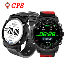 FS08 GPS Smart Watch MTK2503 IP68 Bluetooth kalis air 4.0 Heart Rate Tracker Fitness Multi-mode Pemantauan Sukan Smartwatch