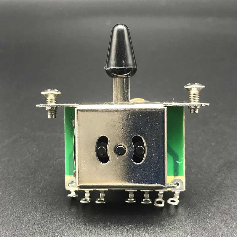 3/5 переключатель звукоснимателя для гитары с черным наконечником для FD TL Стиль электрогитары аксессуары для гитары