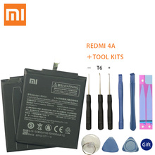 Xiao Mi Phone For Xiaomi Redmi 4A Battery BN30 3120mAh Redrice Hongmi Bateria High Quality+Tools