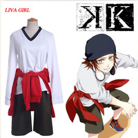 Anime K Return Of Kings Yata Misaki Cosplay Costume Full Set With Hat