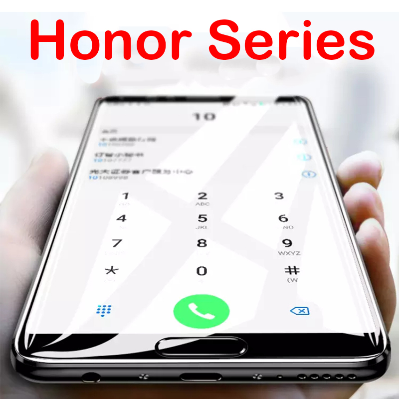 Tempered Glass Case For Huawei Honor Play V View 10 V10 View10 Huawey 10v Screen Protector Protective Phone Film Full Cover Glas