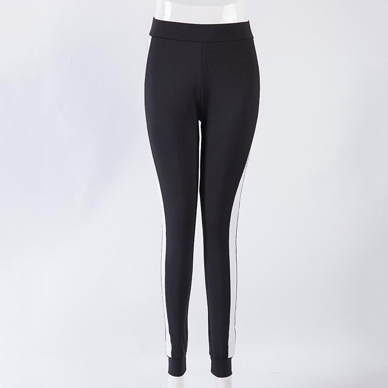Legging mujer flaco pantalones sexy ladies fashion negro blanco - Ropa de mujer - foto 4