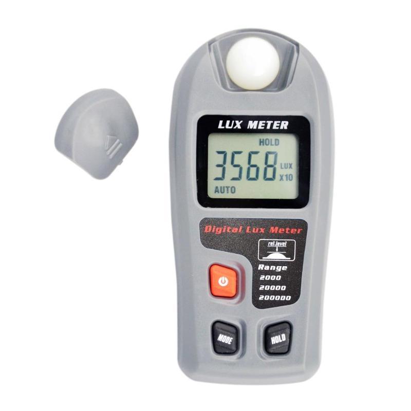 Portable Mini Digital Luxmeter High Precise Digital Illumination Meter Light Intensity Measure Instrument