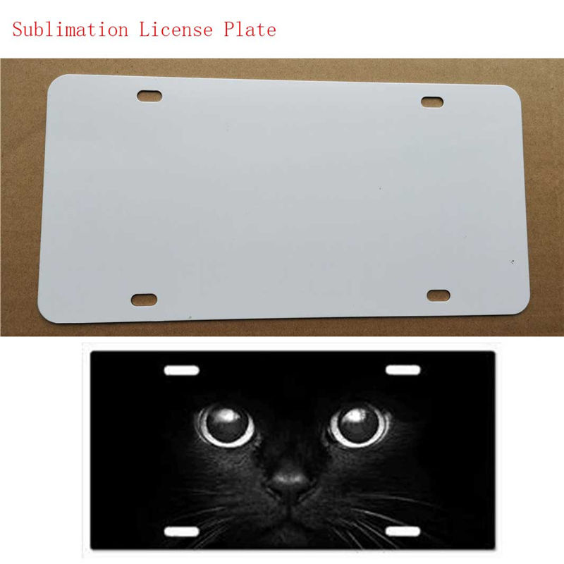 New Style Sublimation Blank Metal Plates Item Product Hot Heart Transfer Printing Diy Custom Consumables 29.5*14.5CM 5pcs/lot