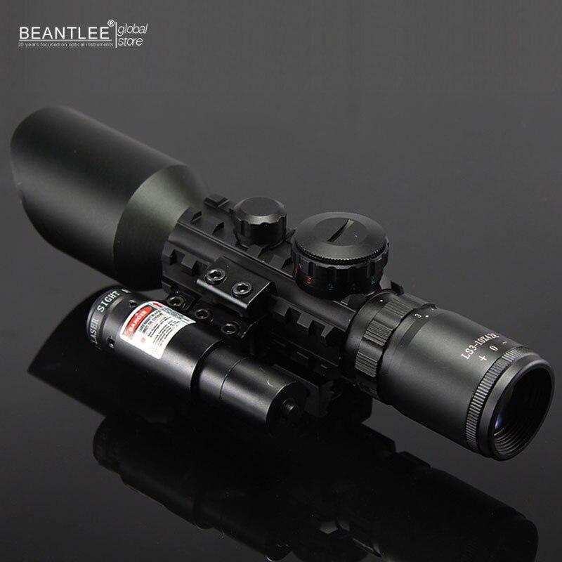 ФОТО 3-10X42E M9C + Holographic Sight Wide-field Telescope Tactical Optics Riflescope Hunting Scopes For Sniper Gear Birdwatching