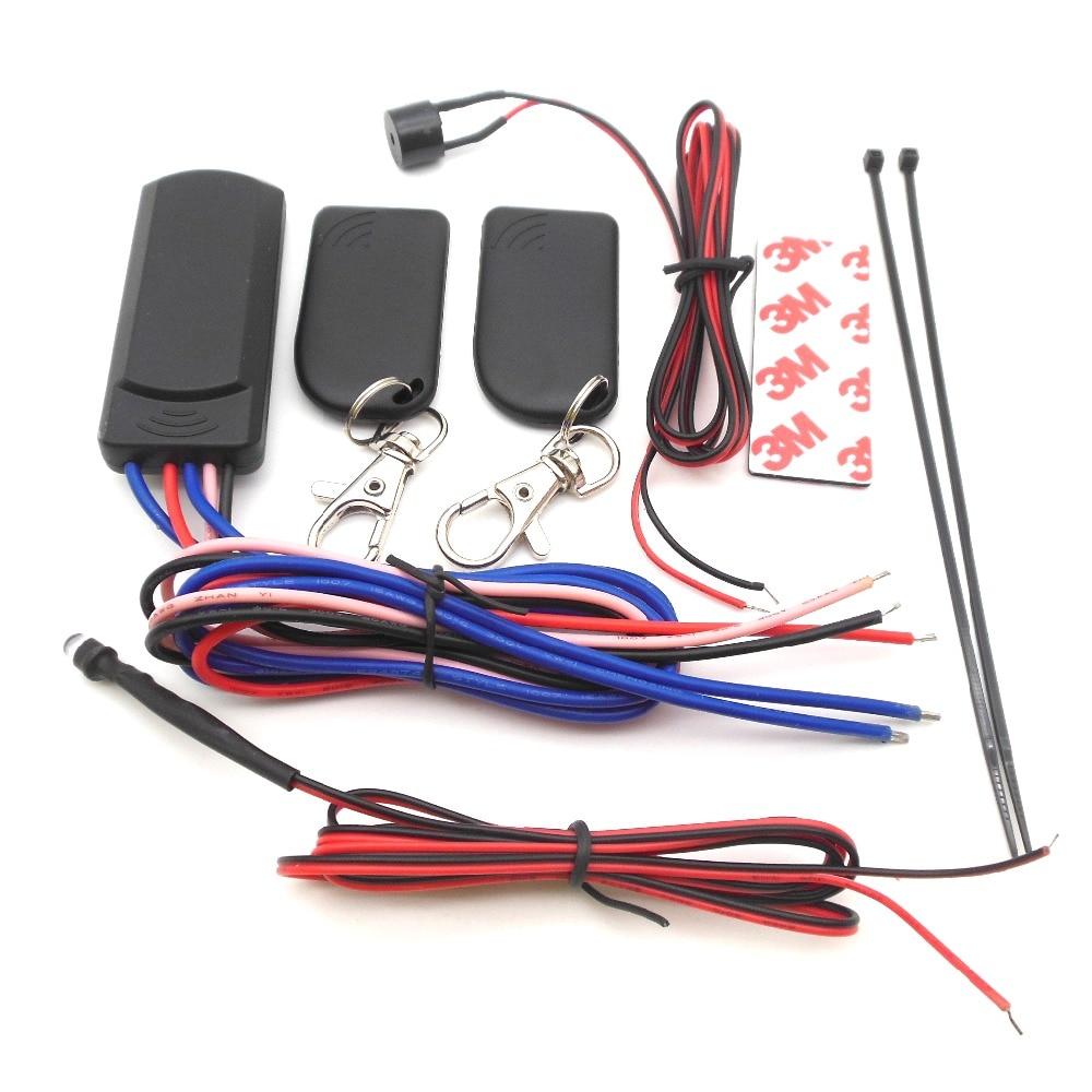 imágenes para RFID del coche del inmovilizador del motor de bloqueo inteligente anti-secuestro y circuito cut off bloquear y desbloquear automáticamente coche motor