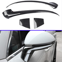 For Porsche cayenne PO536 2018 2019 Car Accessories Side Mirror Rear View Wing Chrome Cover Trim Molding Bezel Car Styling