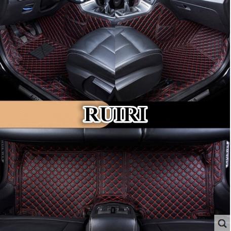 De alta qualidade! Personalizado tapetes do carro especial para KIA Sorento 5 assentos 2019-2016 à prova d' água tapetes para Sorento 2018, frete grátis