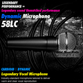 High Quality SM 58 58LC SM58LC Wired Vocal Karaoke Handheld Dynamic Microphone Microfone Microfono Mic Mike SM58LC SM58S SM58SK