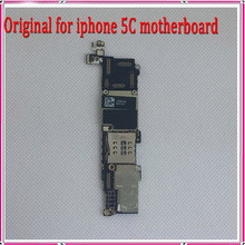 1000% Good Working & Full Completely Original Unlocked 16G Mainboard For Apple iphone 5C Motherboard with Chips, Free Shipping