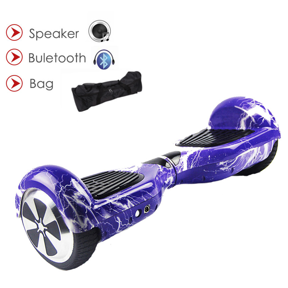 Hoverboard Smart Skateboard 6.5 Inch Self Balance Electric Scooter Unicycle Stand Up Overboard Gyroscooter 700W 36V Hover board hoverboard 8 inch 2 wheel scooter self balance electric scooter bluetooth led light smart electric scooter skateboard hoverboard