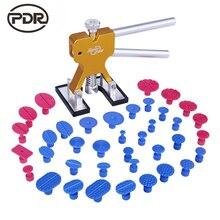 Ferramentas de Remoção de Dente PDR Paintless Dent Repair Ferramenta Dent Lifter Kit Conjunto de Ferramentas de PDR Ventosa Dent Extrator Tabs Otários Ferramentas