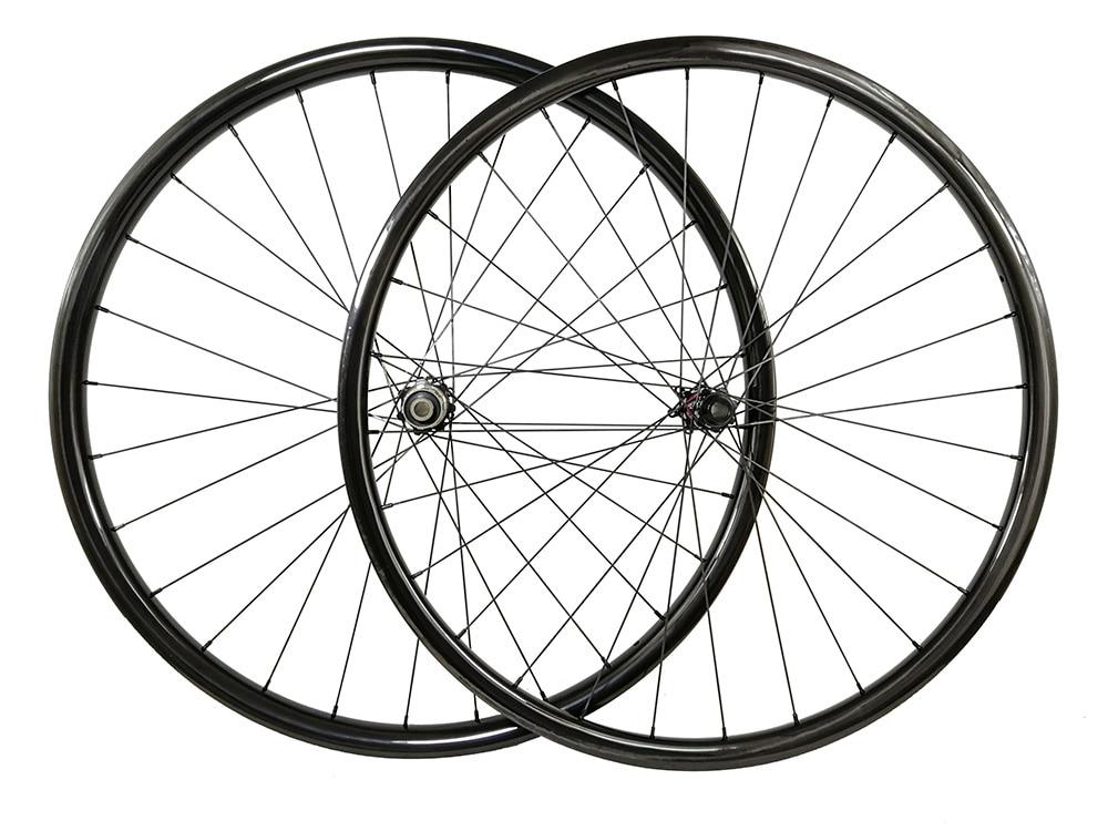 29er Asymmetric 30mm external 25mm internal  XC MTB carbon bike wheels