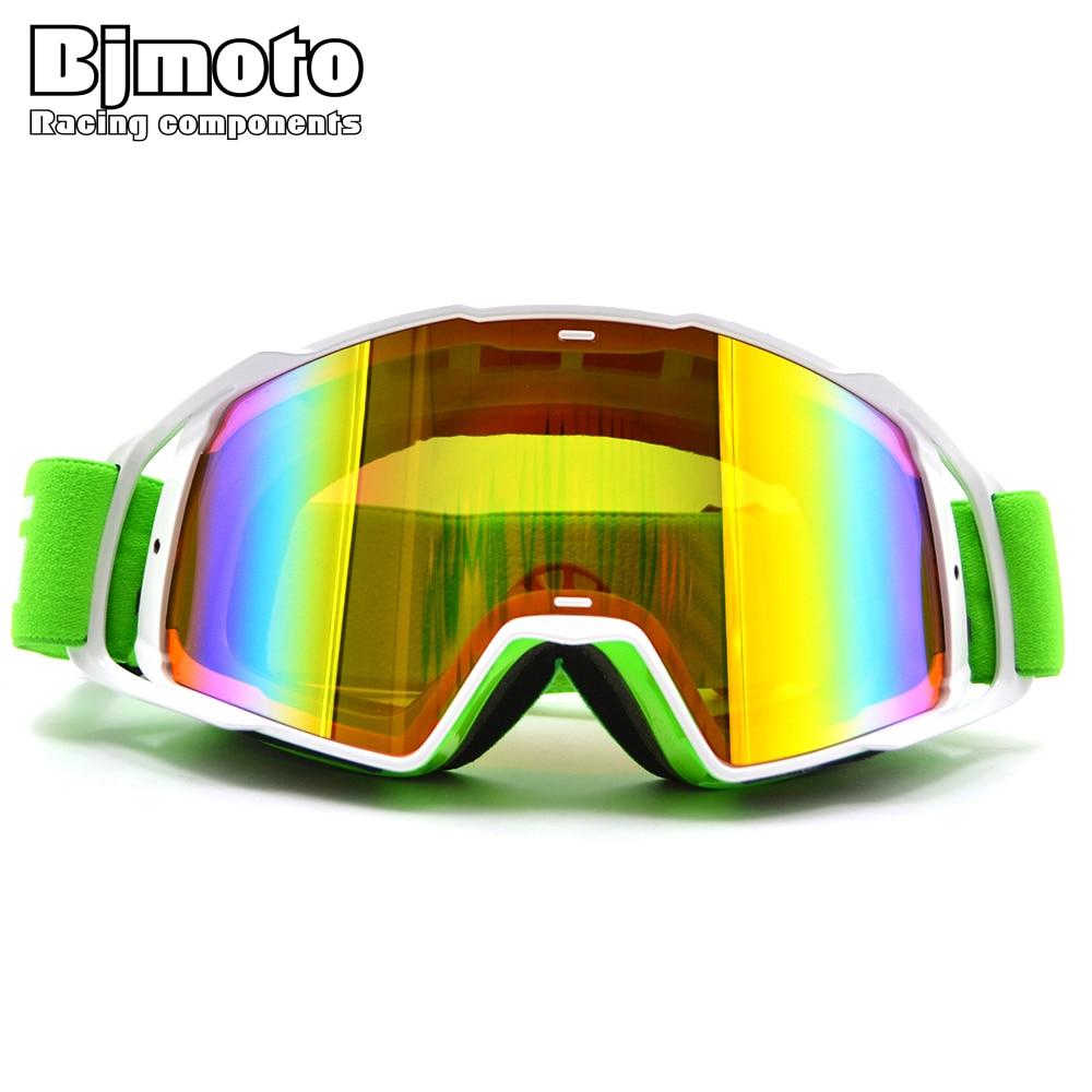 BJMOTO унисекс мотокросс очки мотоцикл Гонки очки Лыжный спорт Сноуборд Съемная Защита от ультрафиолетовых лучей