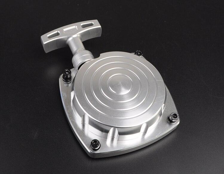 Le démarrage par traction convient aux moteurs HPI Baja 5B, 5 T, 5SC, CY et Zenoah ainsi qu'aux moteurs de 23cc à 30.5cc