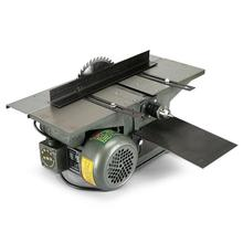 Купить с кэшбэком Bench Multifunction Woodworking machine for Planing/ Sawing/ Drilling 220V / 110V