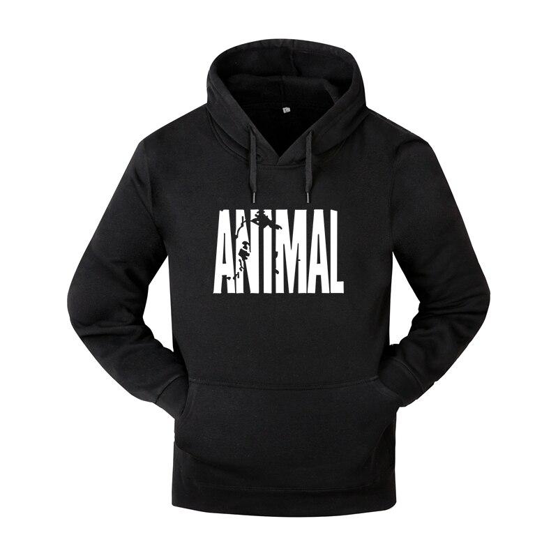 Mens Hooded Hoodies 2018 Animal Print Sweatshirt Mens Pullover Hoodies Clothes Man Hoodies Tracksuits