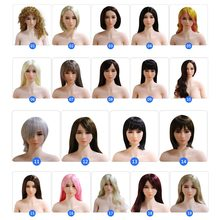Hanidoll New sex doll wig for realistic lifelike sexy silicone sex love doll 135cm to 170cm height high quality hot sale(China)