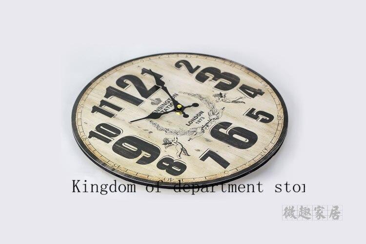 Vintage Reloj de pared de diseño moderno segura cocina Decoración ...