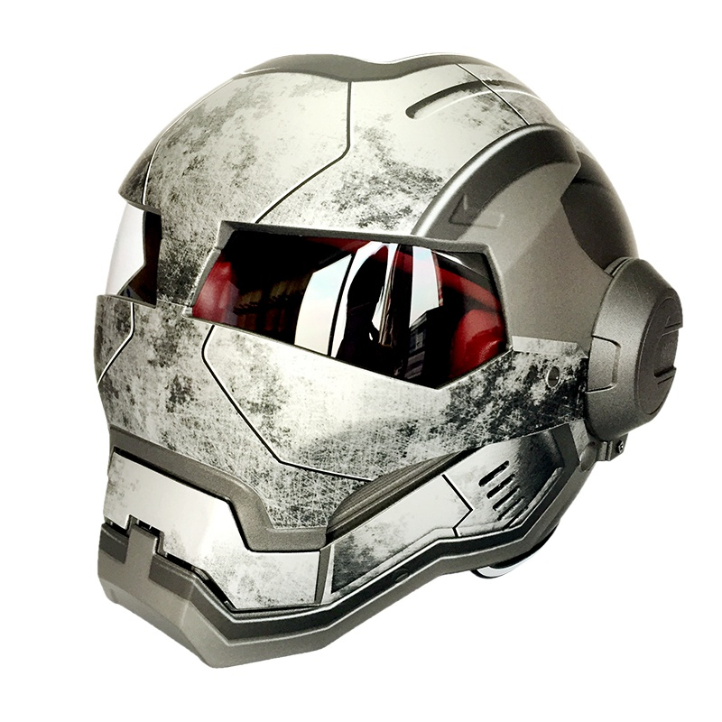 Здесь продается  100% Original Motorcycle Helmet Ironman Style Sport Protective Safety Casco Motocross Capacete Masei 610   Спорт и развлечения