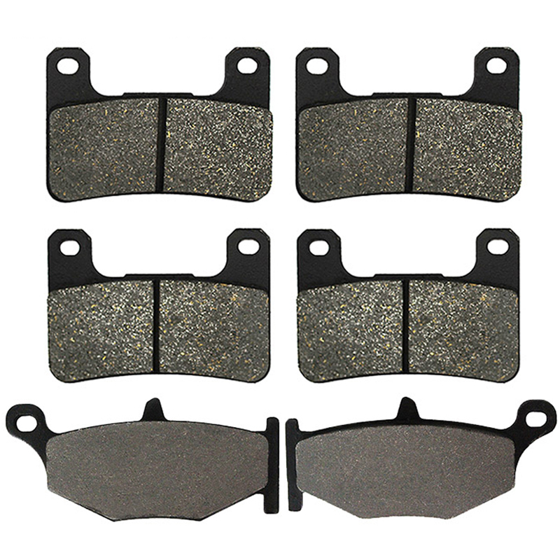 Motorcycle Front and Rear Brake Pads for SUZUKI GSXR <font><b>600</b></font> GSXR600 2006-2010 GSXR 750 GSXR750 2006 2007 <font><b>2008</b></font> 2009 2010 image