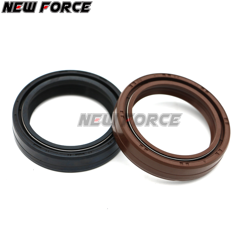 41x 54x11 Motorcycle Front Fork Oil Seal & Dust Seal For XT600Z <font><b>VN1500</b></font> RGV250 GSX600F RF600R SV650 GSX750F 1990-2006 image