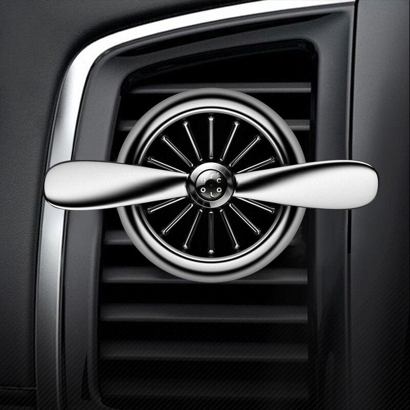 Yika Vogue Car Освежители воздуха Outlet Вентиляторы Пропеллеры Vent клип авто ароматерапии развеять специфический запах стайлинга автомобилей Духи