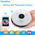 360 градусов Wi-Fi ip-камера рыбий глаз HD 960P 1.3MP Смарт панорамный IPC P2P Беспроводная IP камера «рыбий глаз» камера 1.3MP Wi-Fi камера системы безопасност...