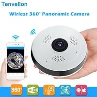 360 Degree Wi fi IP Camera FishEye HD 960P 1.3MP Smart Panoramic IPC P2P Wireless IP Fisheye Camera 1.3MP Security Wifi Camera