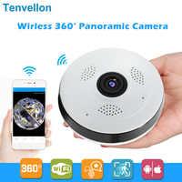 360 grad Wi-fi IP Kamera FishEye HD 960P 1.3MP Smart Panorama IPC P2P Drahtlose IP Fisheye Kamera 1.3MP Sicherheit wifi Kamera