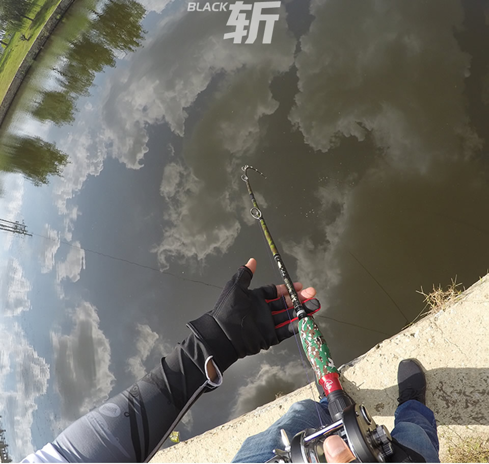 Kingdom Black Cut Spinning Casting Fishing Rod Carton MH, H Power Ultralight Telescopic Fishing Rods 2.39m, 2.49m Travel Rod (16)