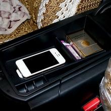 Para BMW X3 X4 F25 F26 2011-2018 reposabrazos caja de almacenamiento central contenedor titular accesorios del Interior del estilo de coche