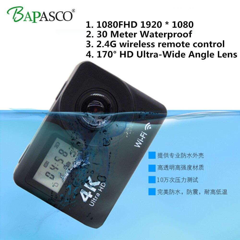 Caméra d'action Ultra 1080HD 4 K/30fps WiFi 2.0