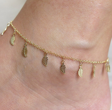 2017 Sexy Beach Summer Style Gold Leaves Pendant Chains Anklets Ankle Foot Jewelry Barefoot Foot Accessories