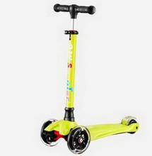 A02 3-12年新しい到着日スクーターフラッシュホイール子供屋外おもちゃ赤ちゃん三輪車四輪子供バイクスライドに乗るおもちゃ