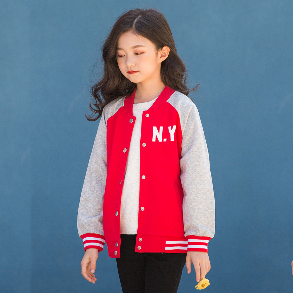 girls coat autumn 2018 kids jackets and coats child baseball jacket teen clothes for girl size 4 5 6 7 8 9 10 11 12 13 14 15 macgregor bbmesh 12 5 inch baseball utility glove page 8