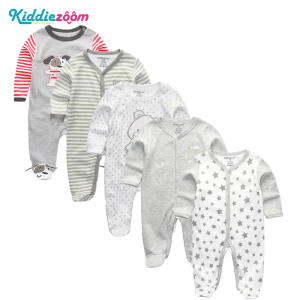 kiddiezoom 3/4/5Pcs/set Baby Newborn Clothes Boy