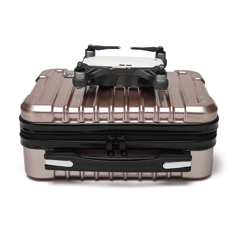DJI Spark Case Hardshell Portable Box Suitcase Carrying Bag Large Capacity Storage Drone Body Remote Control Battery цена