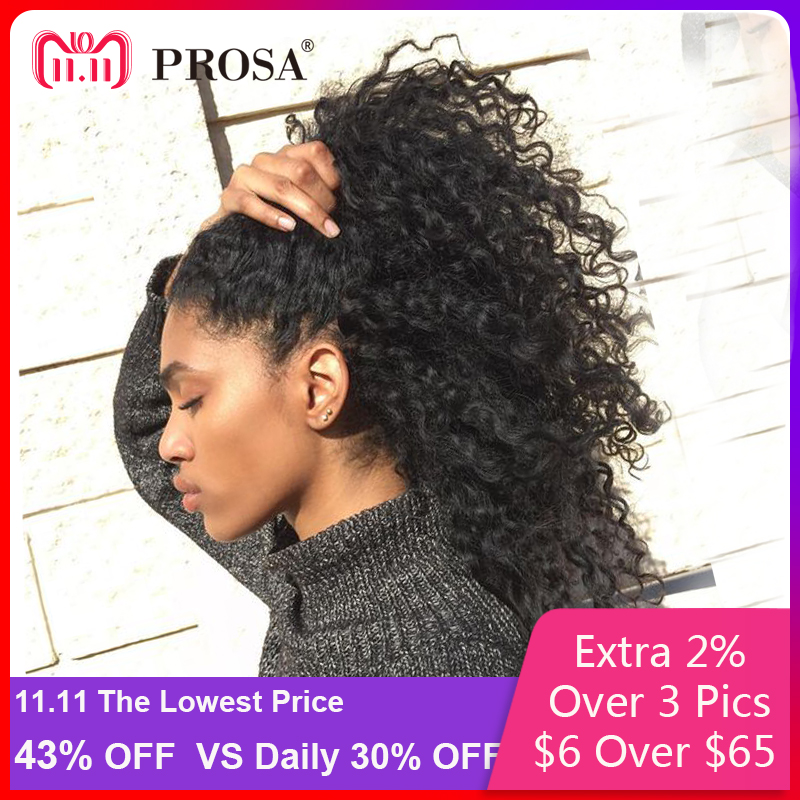 Lace Front Human Hair Wigs For Women Black Pre Plucked 250 Density Curly Human Hair Wig 13x4 Brazilian Lace Wig Prosa Remy